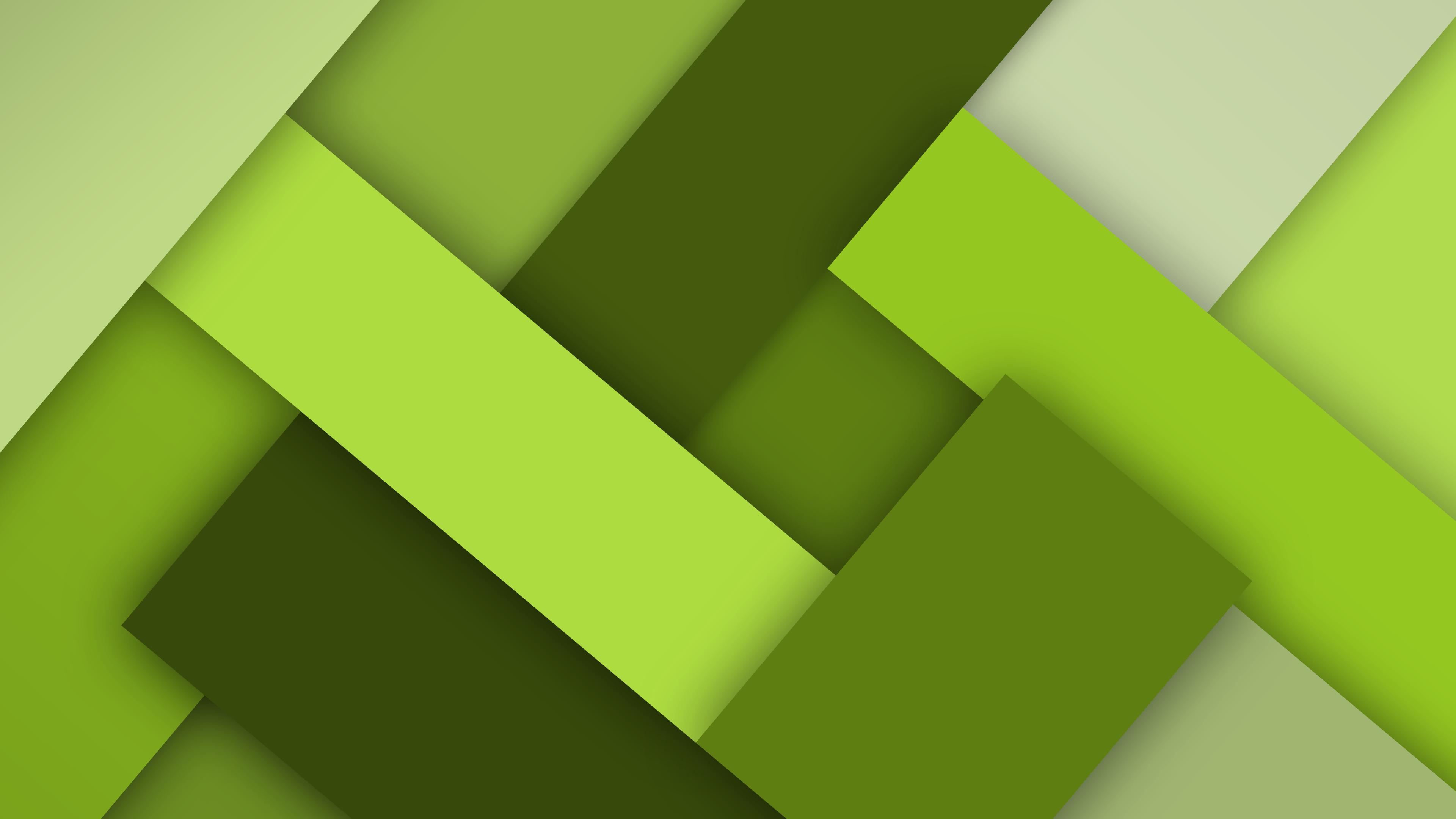 Illustration Digital Art Minimalism Grass Green Yellow Simple Triangle Pattern Texture Circle Color Leaf Shape Design