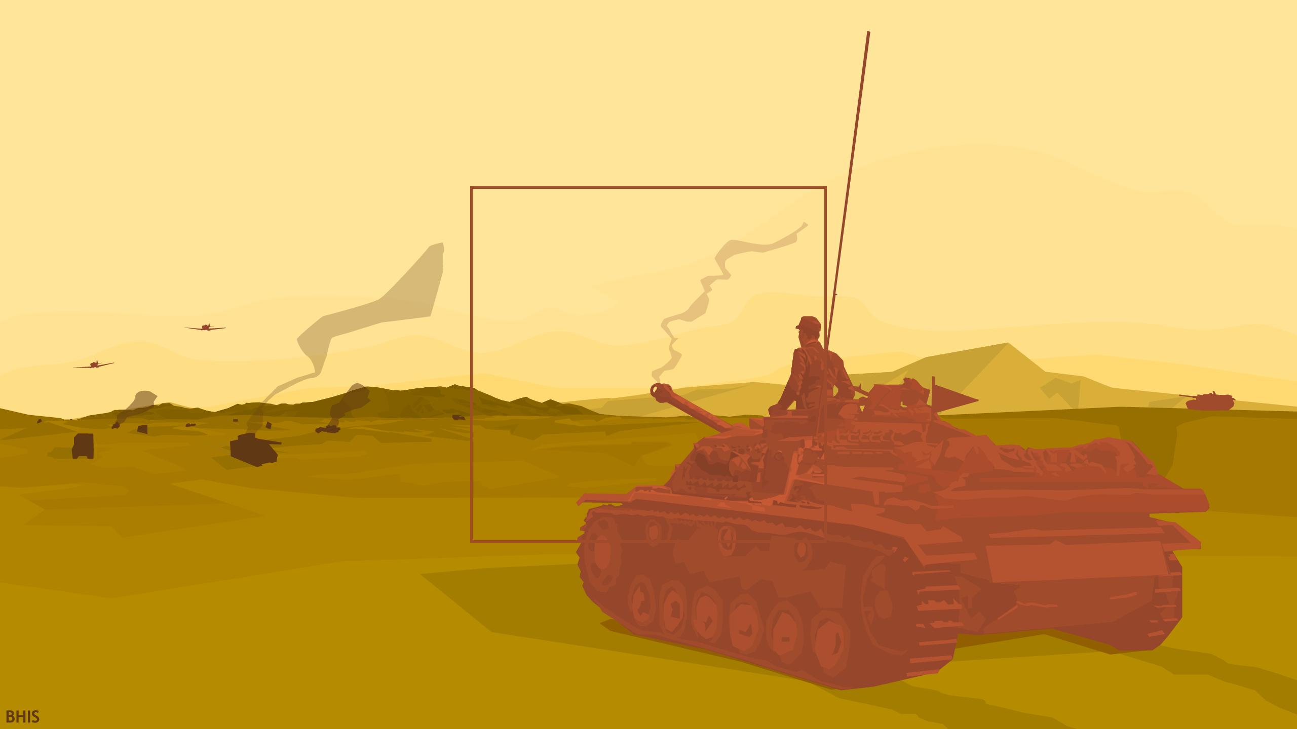 Wallpaper Ilustrasi Seni Digital Minimalis Kendaraan