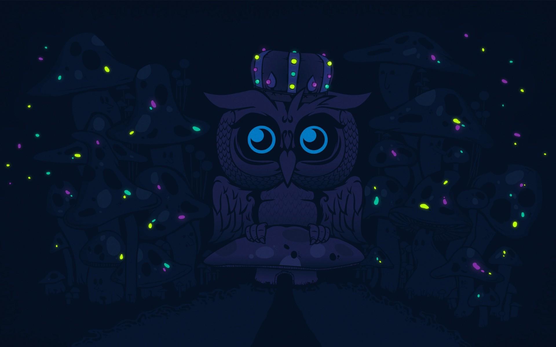 Illustration Digital Art Night Owl Darkness Screenshot 1920x1200 Px Computer Wallpaper