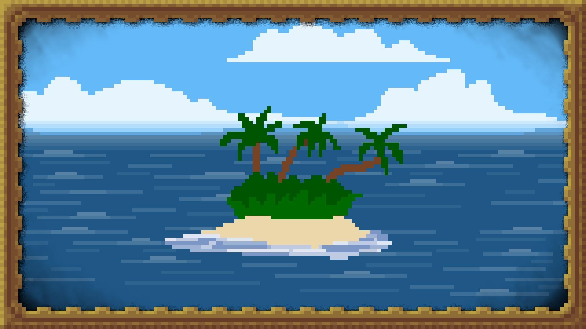 Sfondi illustrazione arte digitale mare pixel art for Koch auf englisch