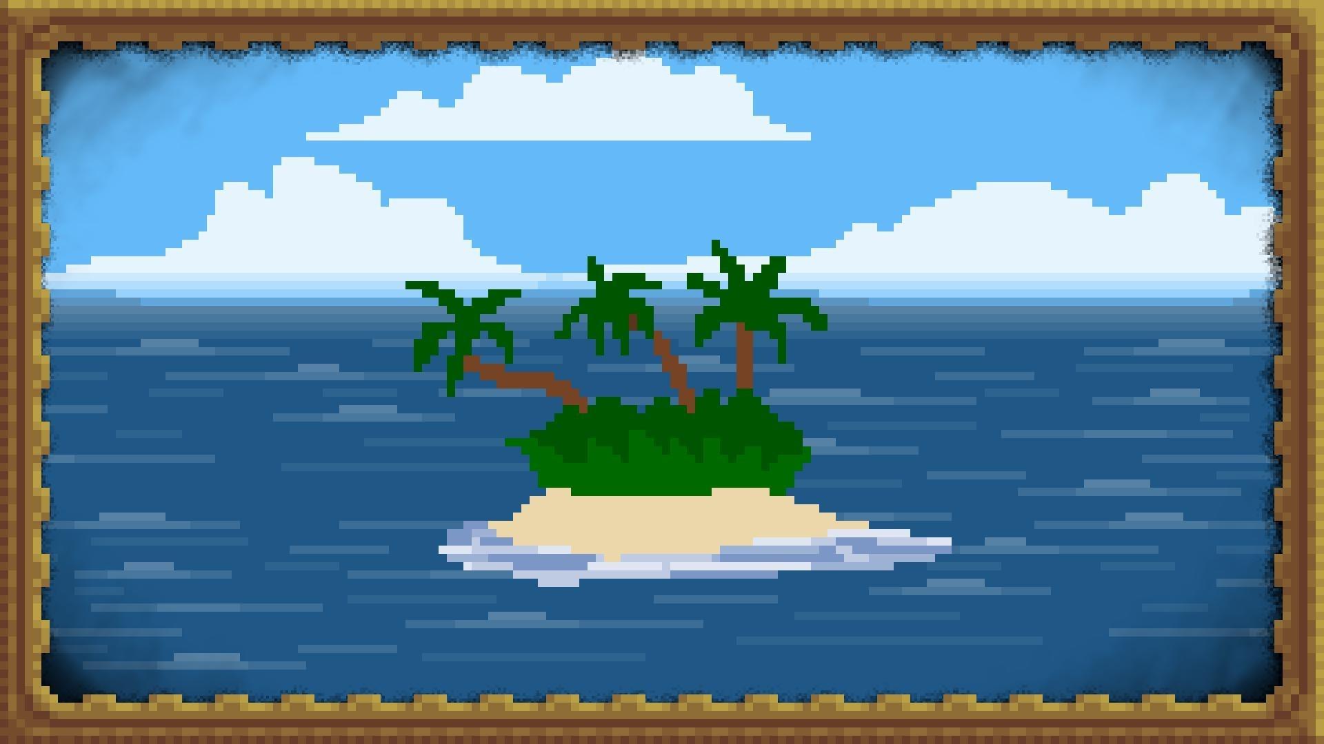 Sfondi Illustrazione Arte Digitale Mare Pixel Art Natura