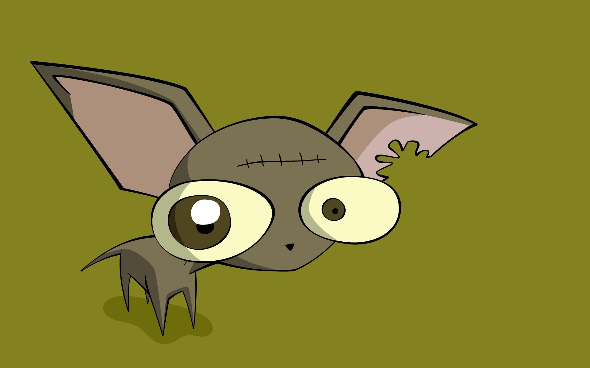 Sfondi : illustrazione occhi anime cartone animato cane sfondo