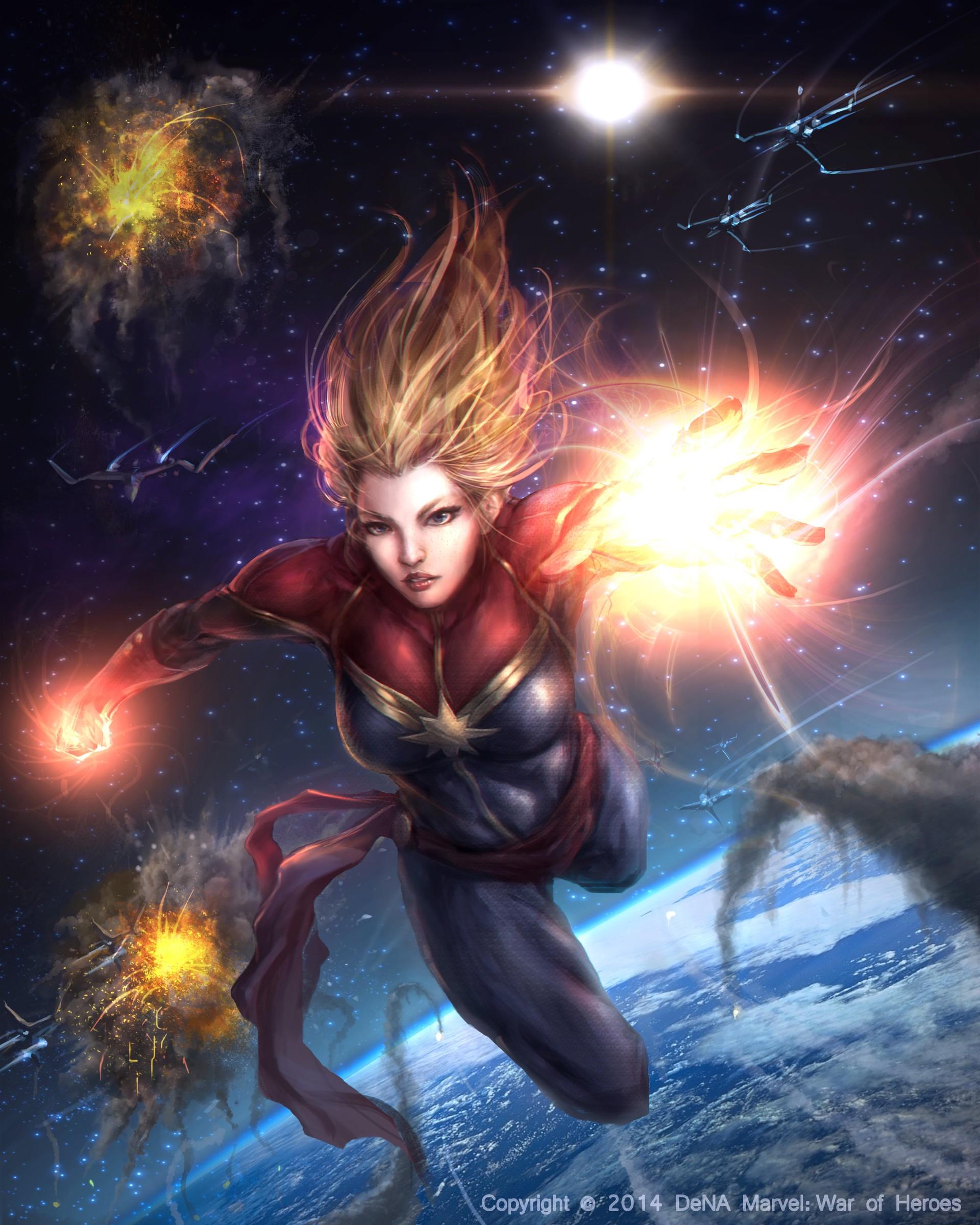 Wallpaper Illustration Fantasy Art Marvel Comics Mythology
