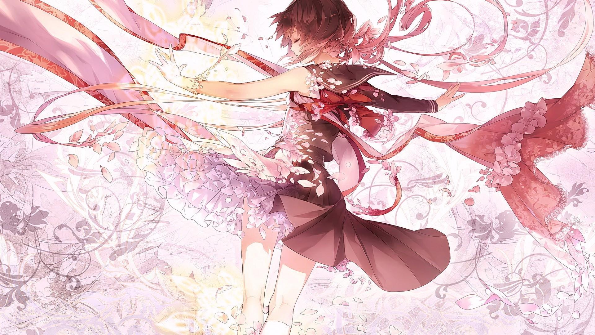 Fondos de pantalla ilustraci n chica de fantas a anime - Boy with rose wallpaper ...