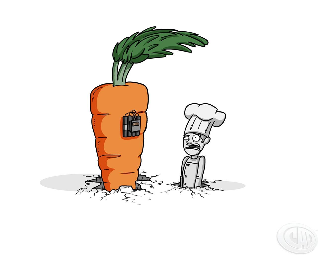 Морковка прикольная картинка