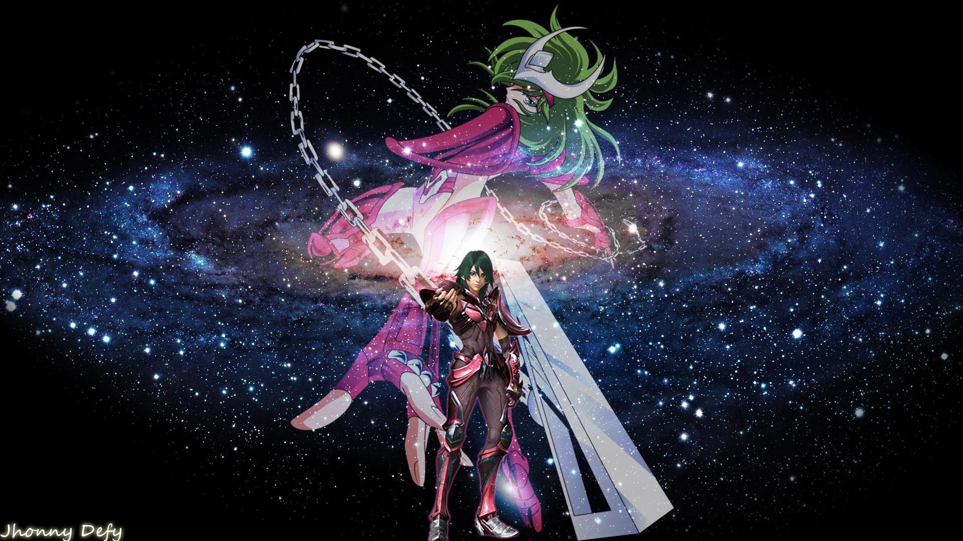 デスクトップ壁紙 図 銀河 スペース 聖闘士星矢聖域の伝説