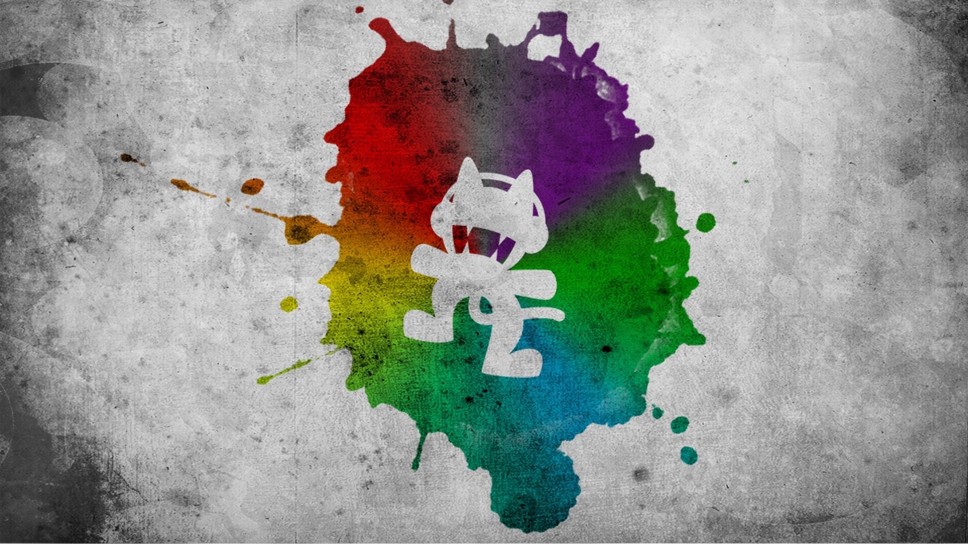 Wallpaper : illustration, green, texture, Monstercat, ART, color ...