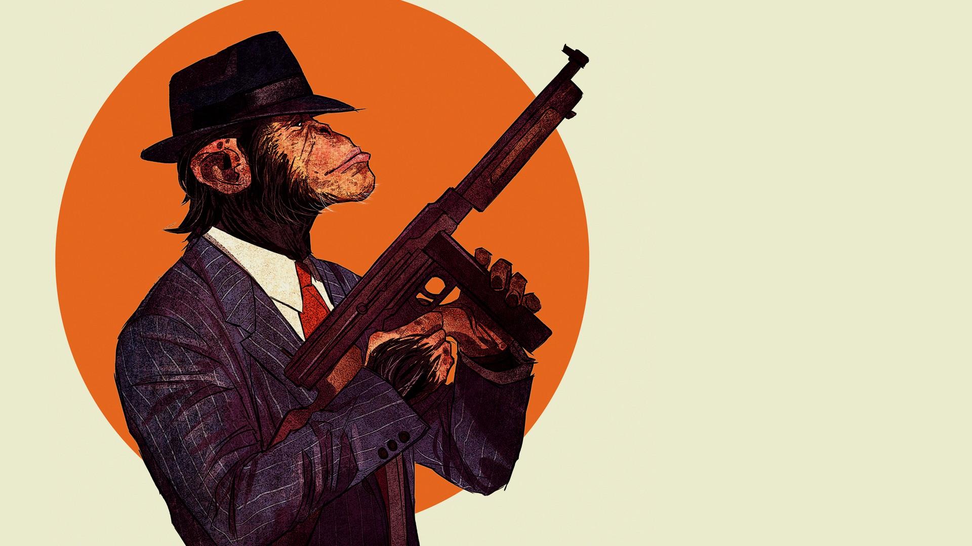 https://get.wallhere.com/photo/illustration-gun-Thompson-chimpanzees-tommy-gun-plucked-string-instruments-115080.jpg