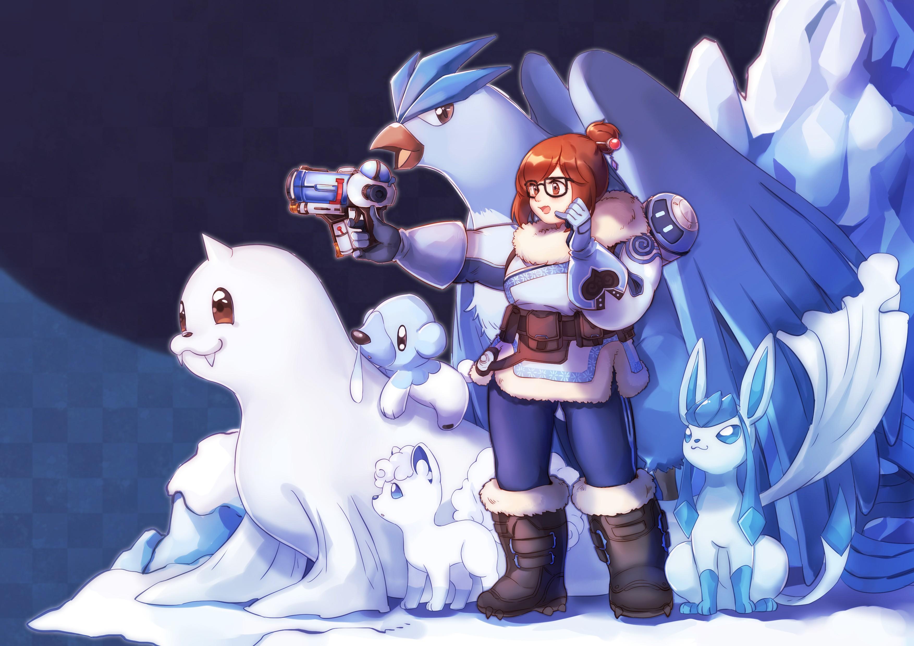 Wallpaper illustration gun anime girls short hair - Mei wallpaper ...