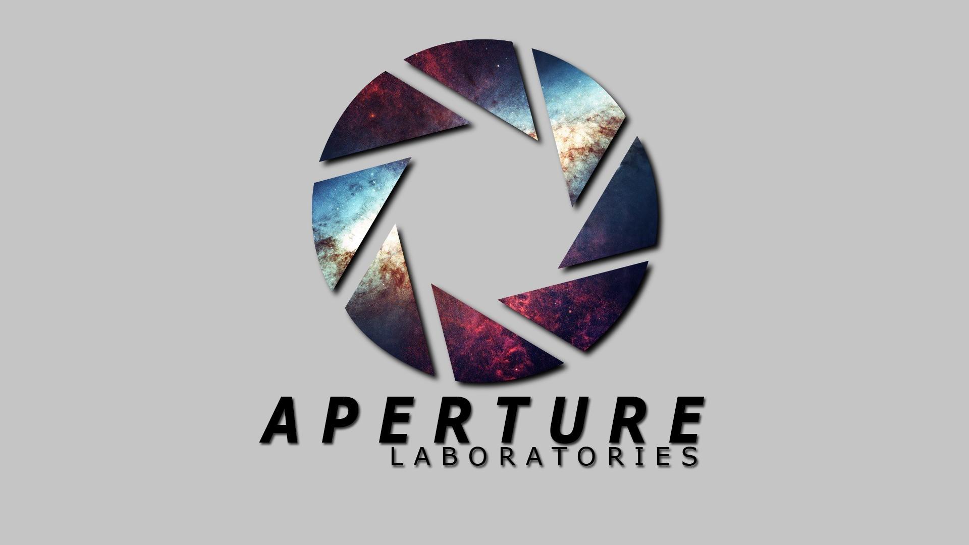 wallpaper : illustration, logo, steam software, valve, aperture