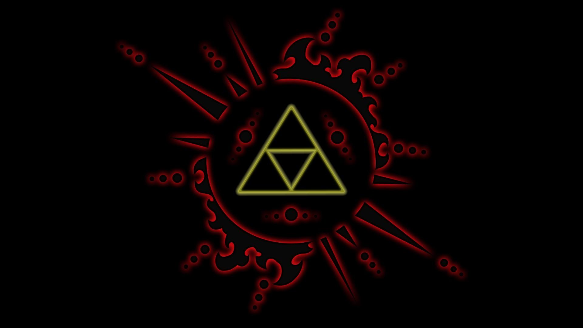 Wallpaper Illustration Logo The Legend Of Zelda Triforce