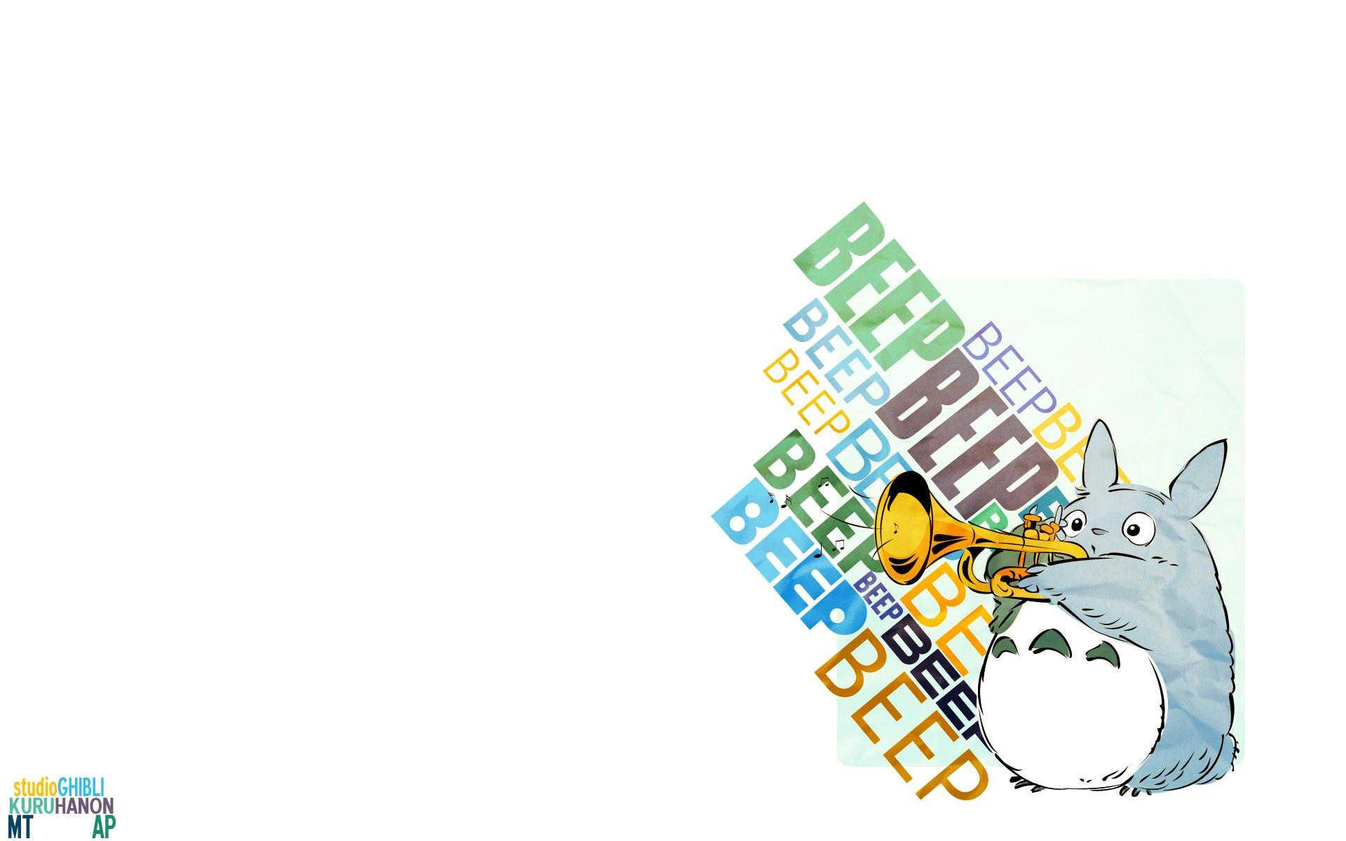 デスクトップ壁紙 図 ロゴ 漫画 となりのトトロ スタジオジブリ