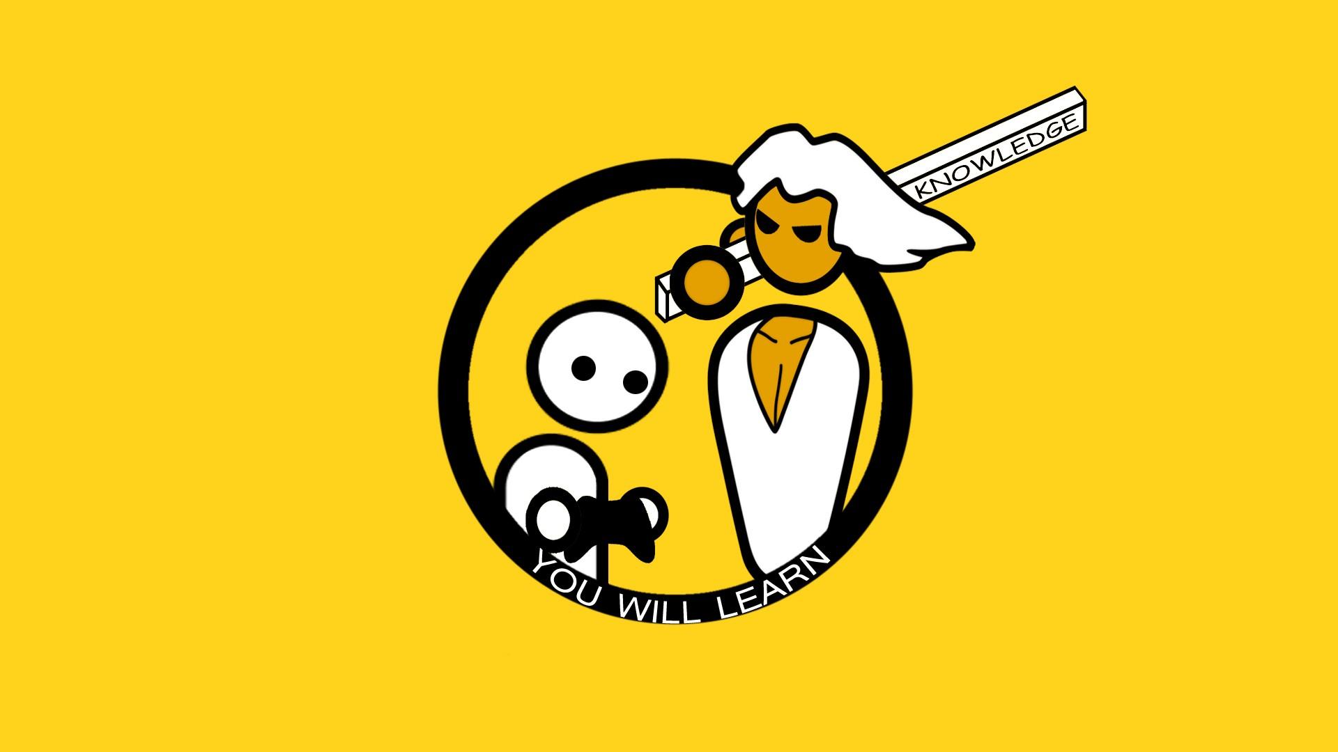 Wallpaper Ilustrasi Logo Gambar Kartun PC Gaming PC