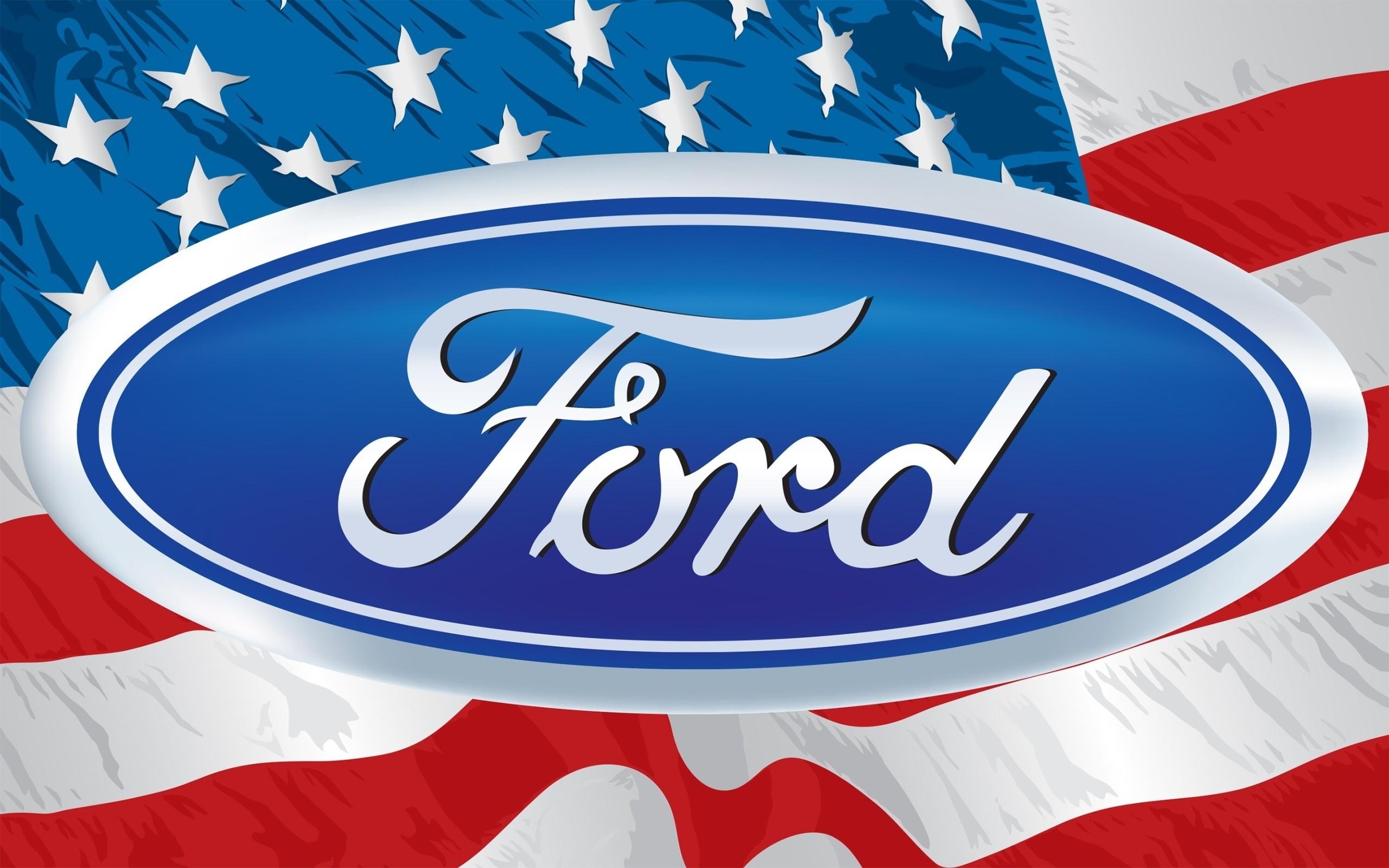 デスクトップ壁紙 図 ロゴ アメリカの旗 フォード ブランド