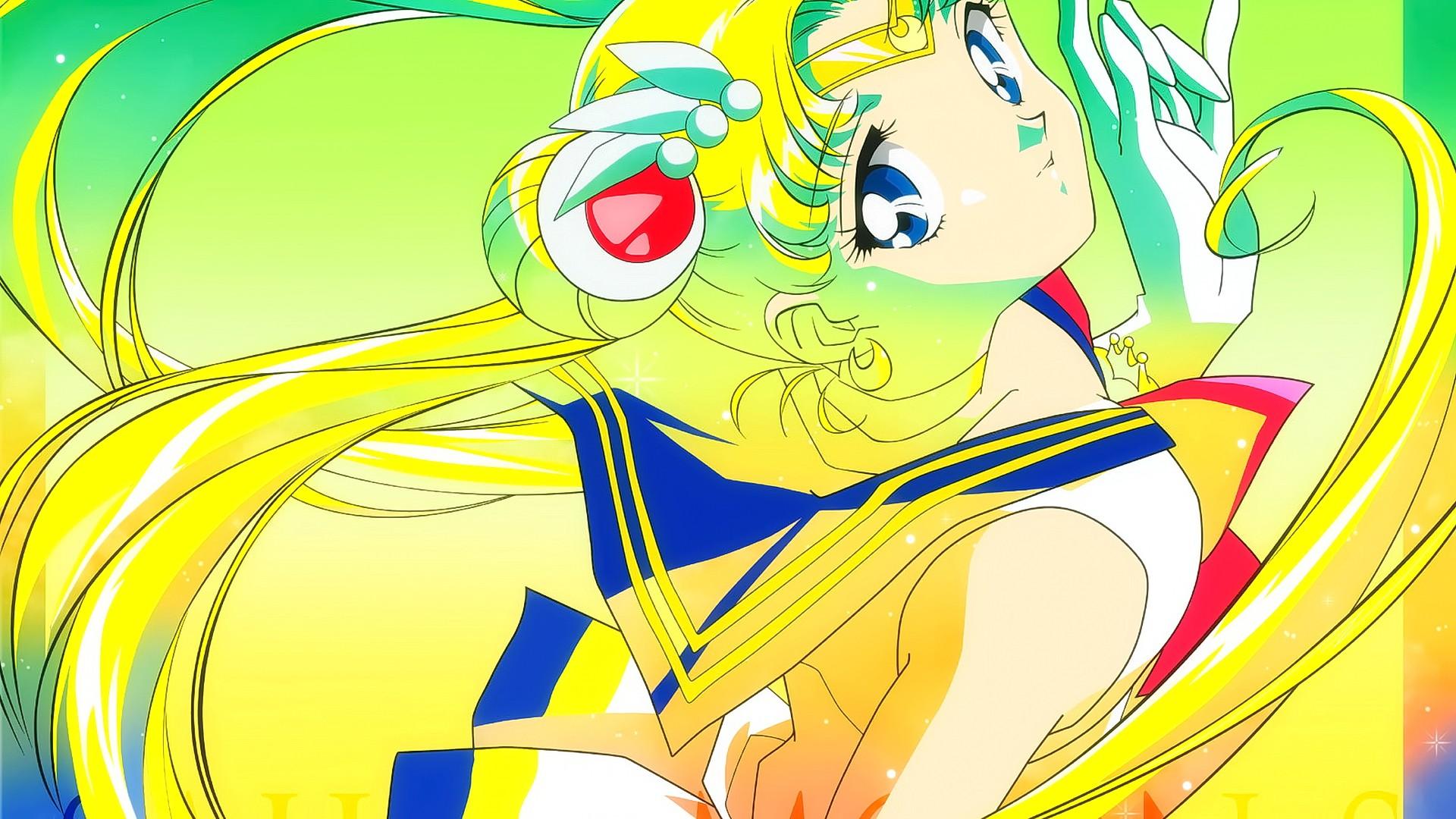 Wallpaper Ilustrasi Rambut Panjang Gadis Anime Mata
