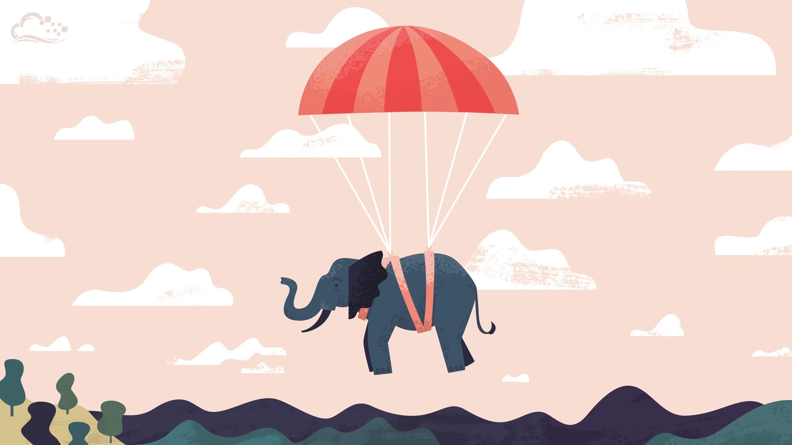 Best Wallpaper Cartoon Elephant - illustration-minimalism-cartoon-elephant-brand-digitalocean-ART-font-117494  Best Photo Reference_806856  .jpg