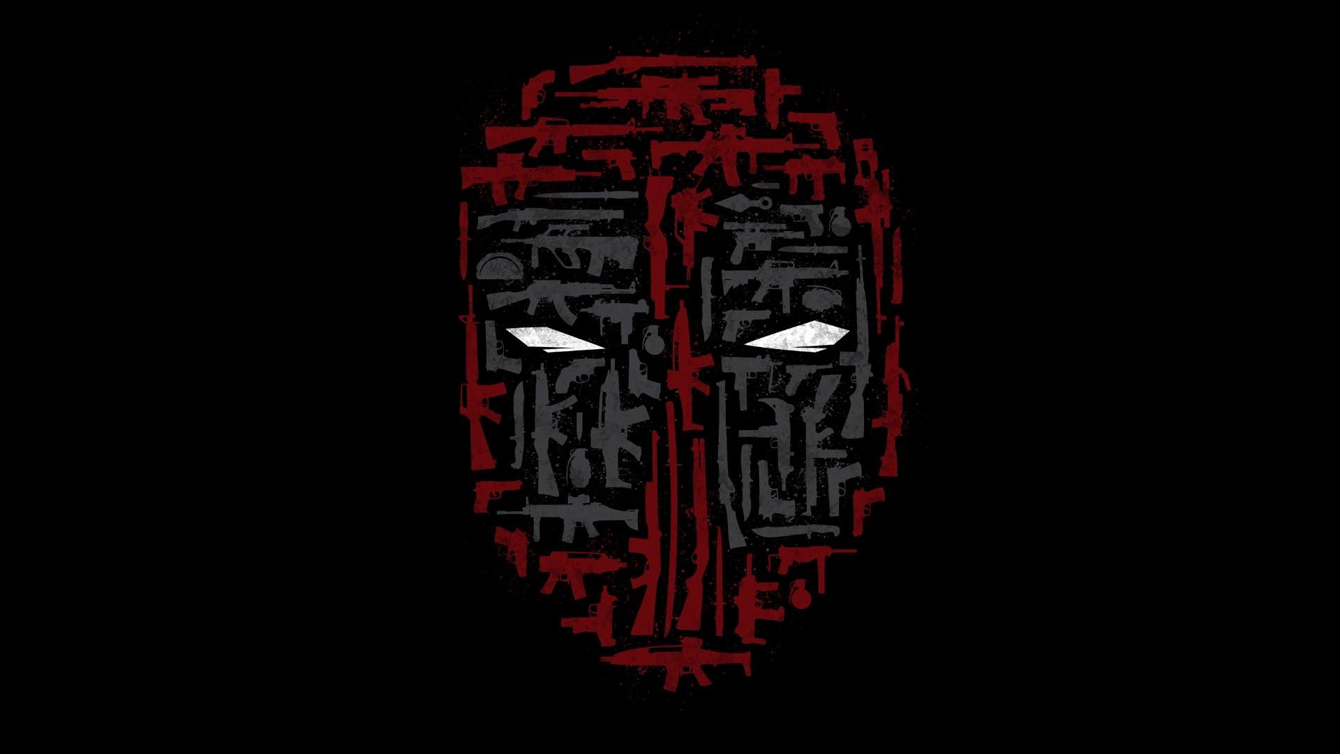 Amazing Wallpaper Logo Collage - illustration-minimalism-collage-weapon-mask-text-logo-Deadpool-symbol-number-human-body-font-organ-71083  Photograph_624334.jpg