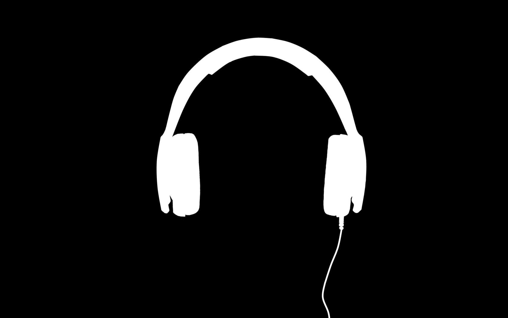 Fond Décran Illustration Minimalisme écouteurs La