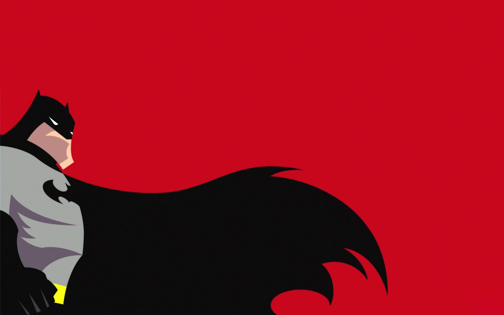 Sfondi illustrazione minimalismo rosso silhouette for Sfondi batman