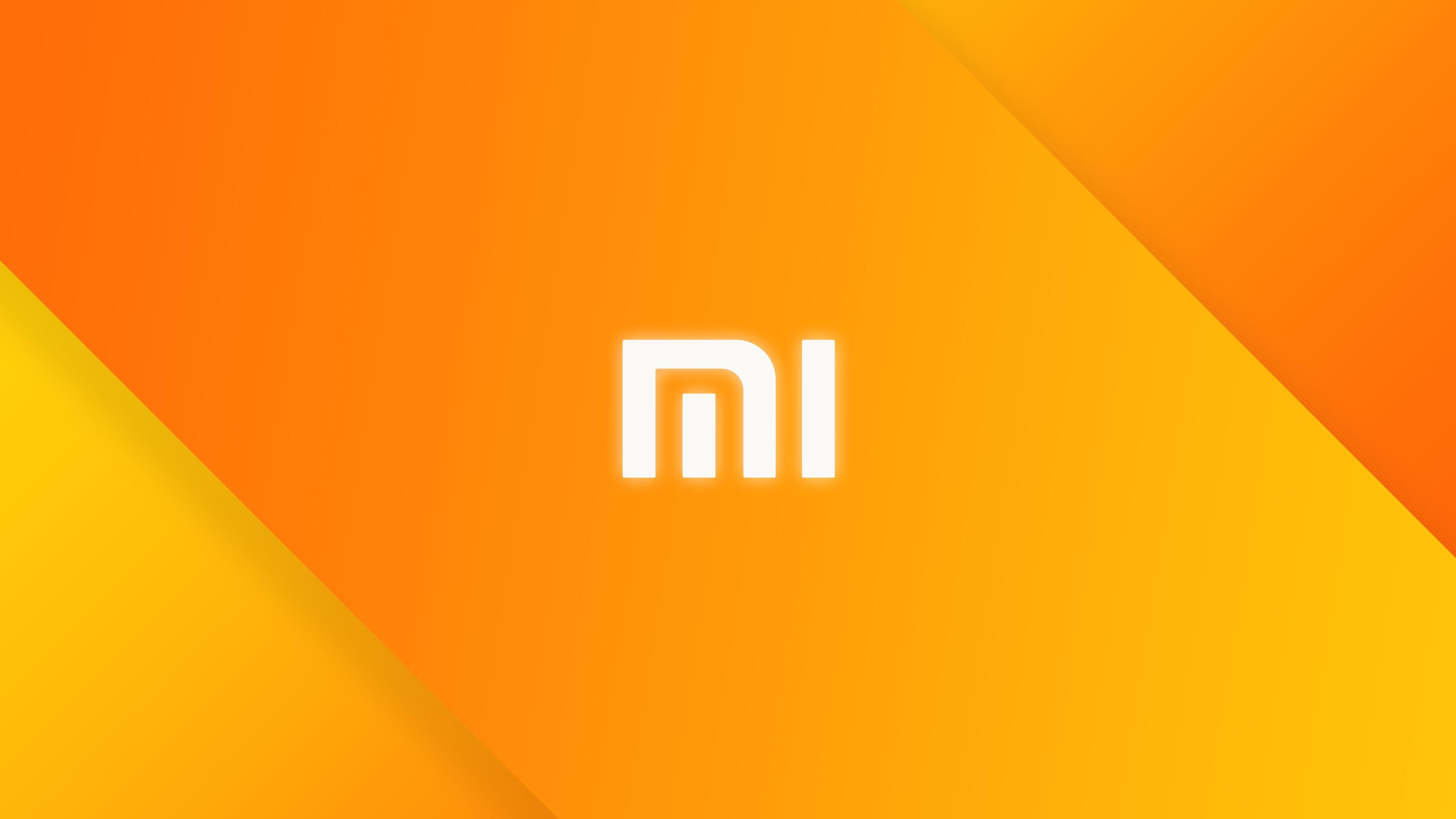 Xiaomi Wallpaper: Wallpaper : Illustration, Minimalism, Text, Logo, Yellow