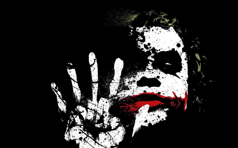Wallpaper Illustration The Dark Knight Batman Joker