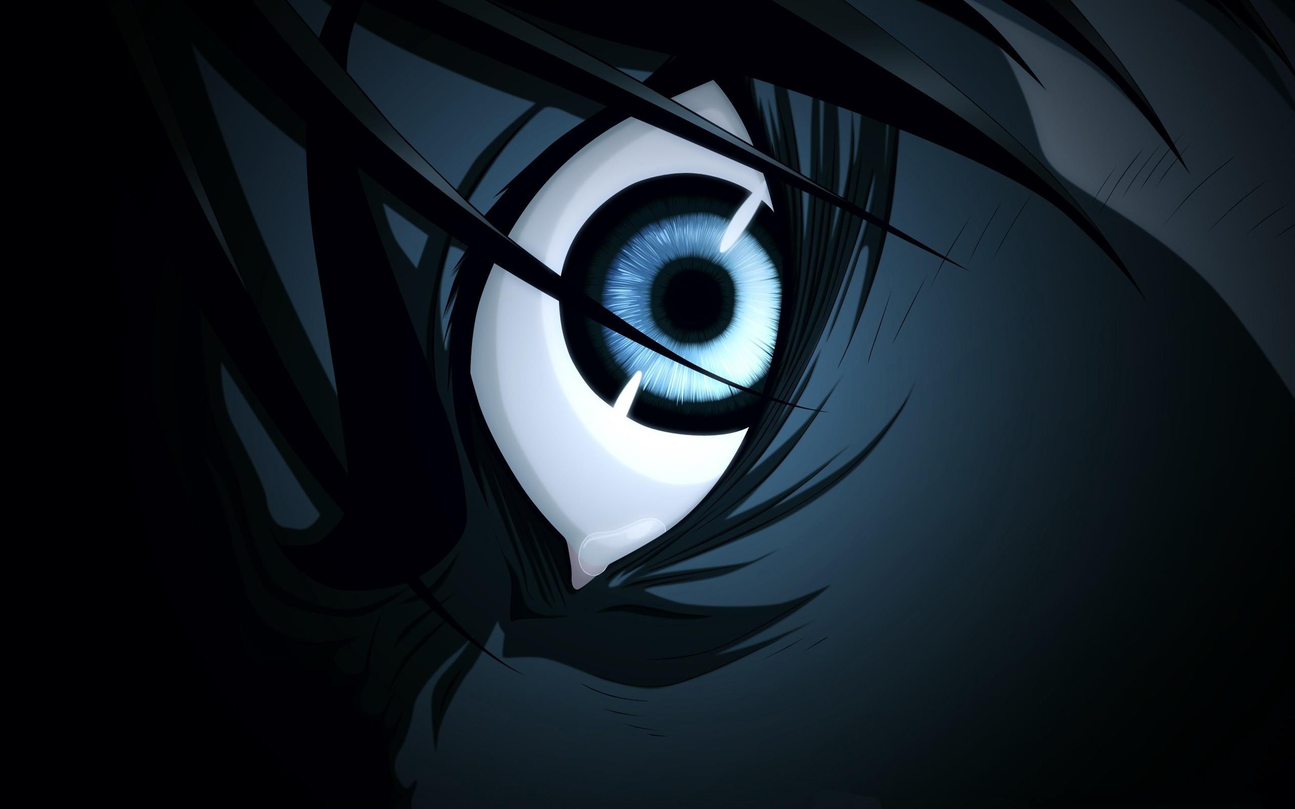Wallpaper Illustration Anime Shingeki No Kyojin Circle Eren Jeager Darkness Screenshot Computer Wallpaper Black And White Monochrome Photography 2560x1600 Mattilius258 132374 Hd Wallpapers Wallhere