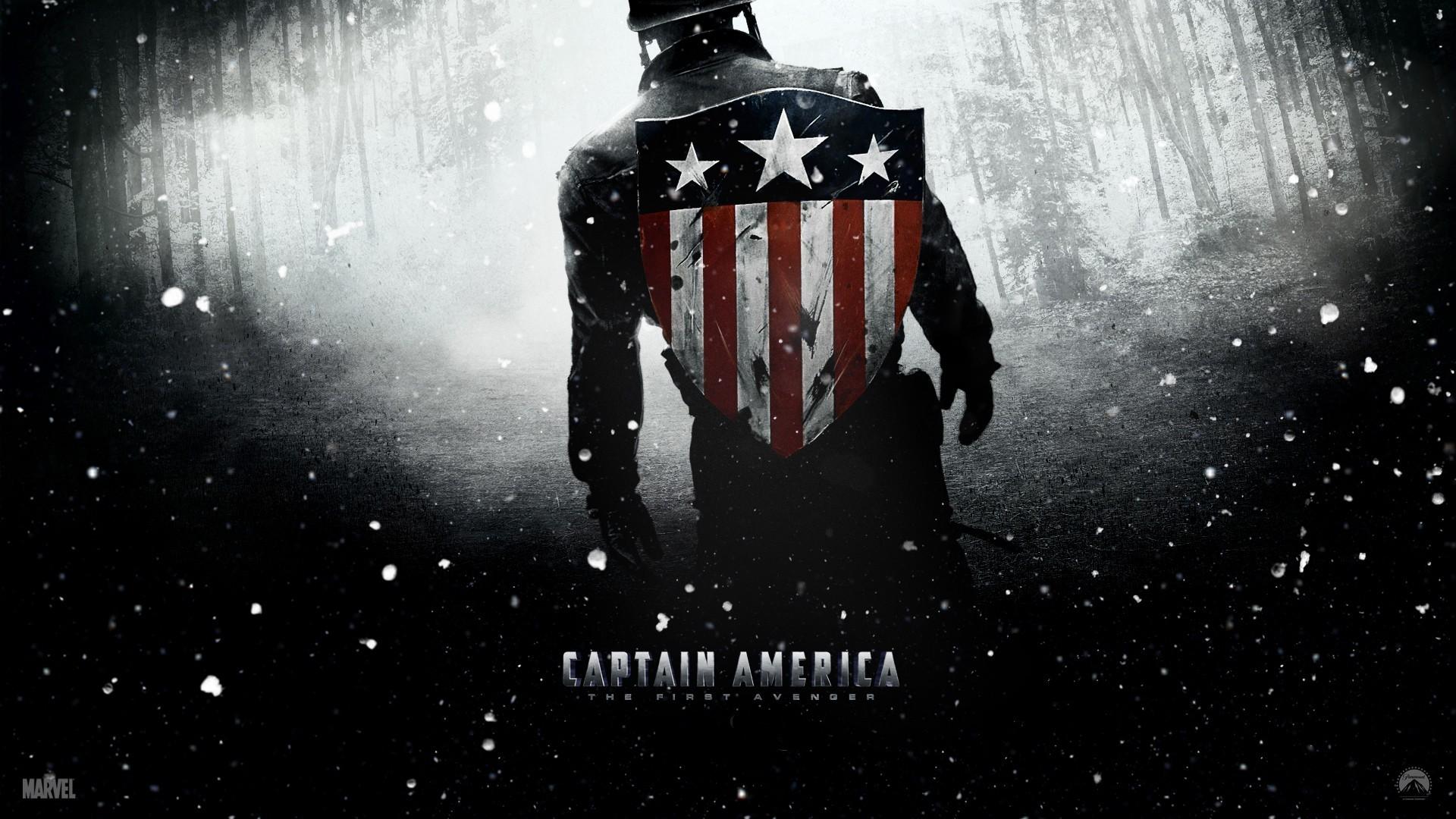 Papel De Parede Do Capitao America: Papel De Parede : Ilustração, Filmes, Capitão América