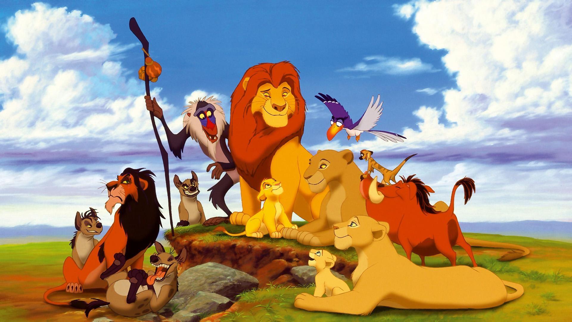 Fond D écran Illustration Dessin Animé Simba Le Roi