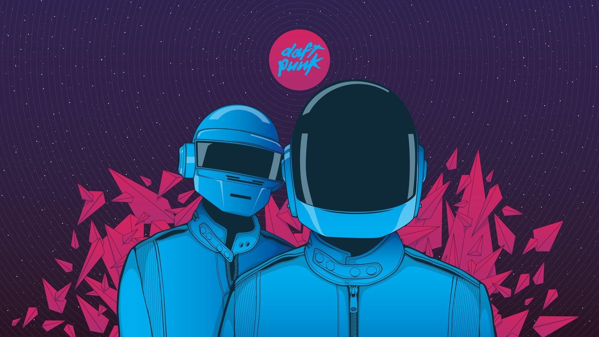 Illustration Music Cartoon Helmet Daft Punk ART Graphic Screenshot Computer Wallpaper