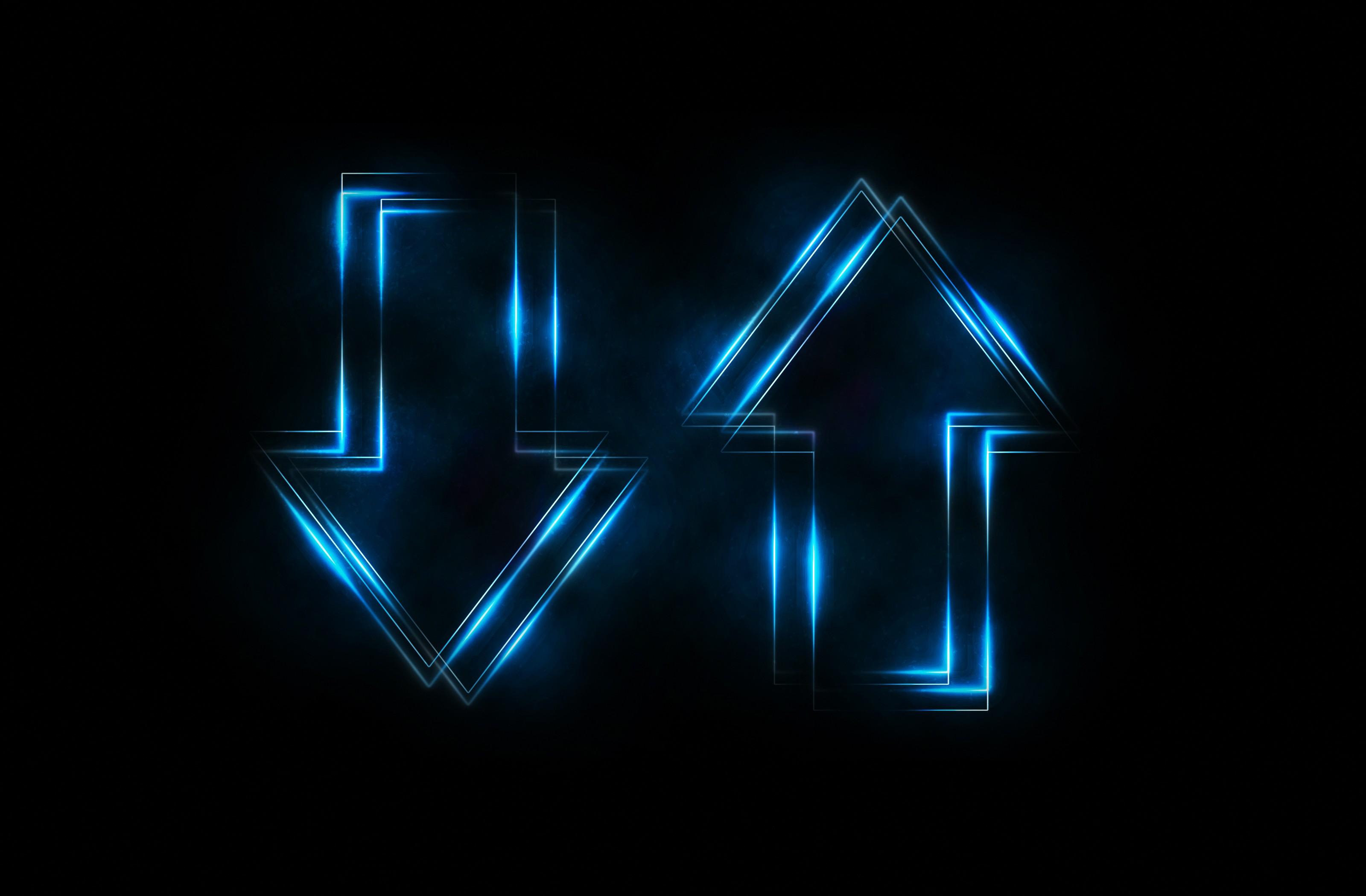 Wallpaper illustration text logo blue triangle neon sign illustration neon text logo blue triangle neon sign arrows artwork light shape line darkness number screenshot altavistaventures Image collections