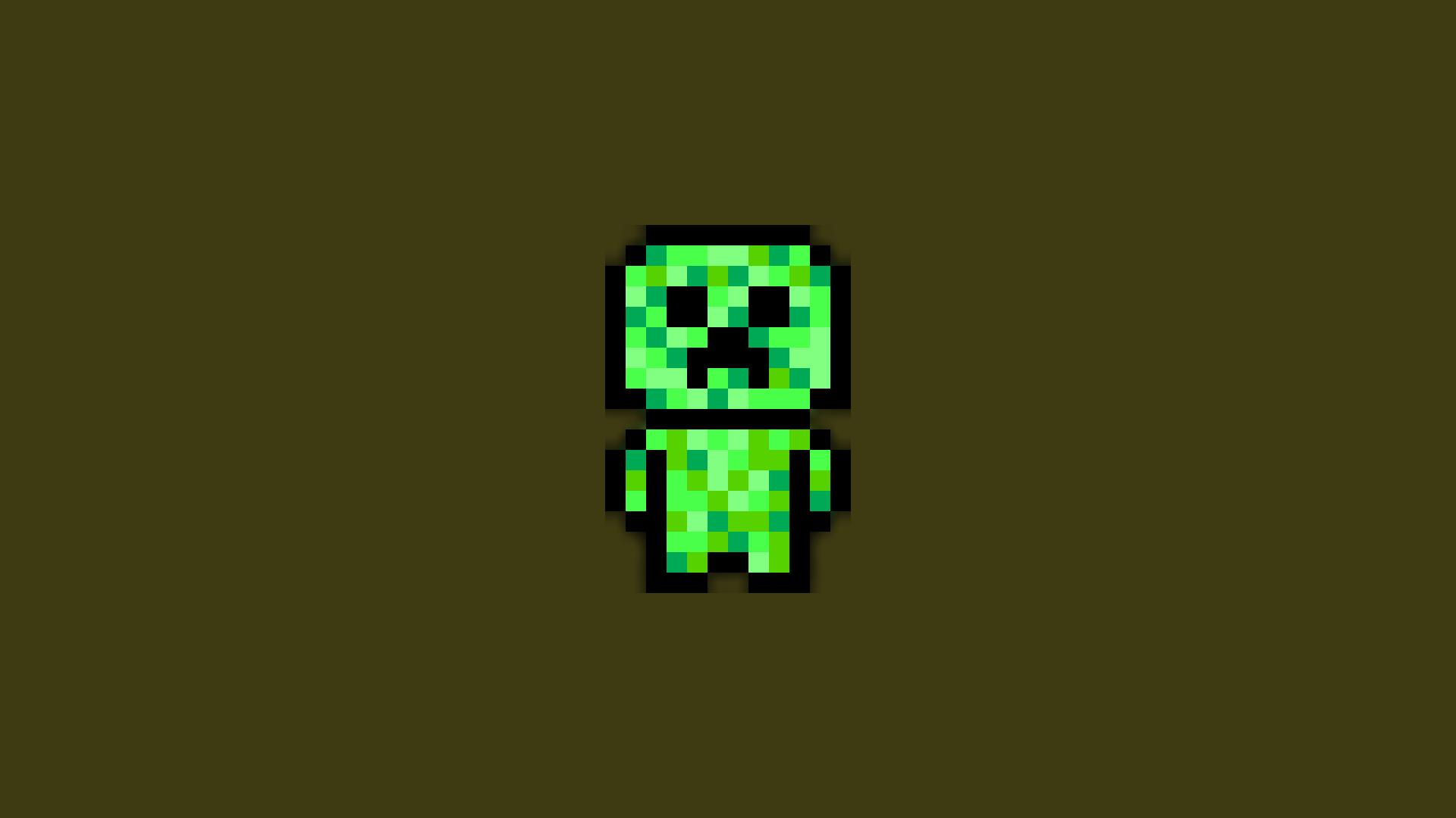 Simple Wallpaper Minecraft Design - illustration-pixel-art-text-Minecraft-creeper-pixels-lighting-design-symbol-number-screenshot-font-2891  Gallery_204835.png