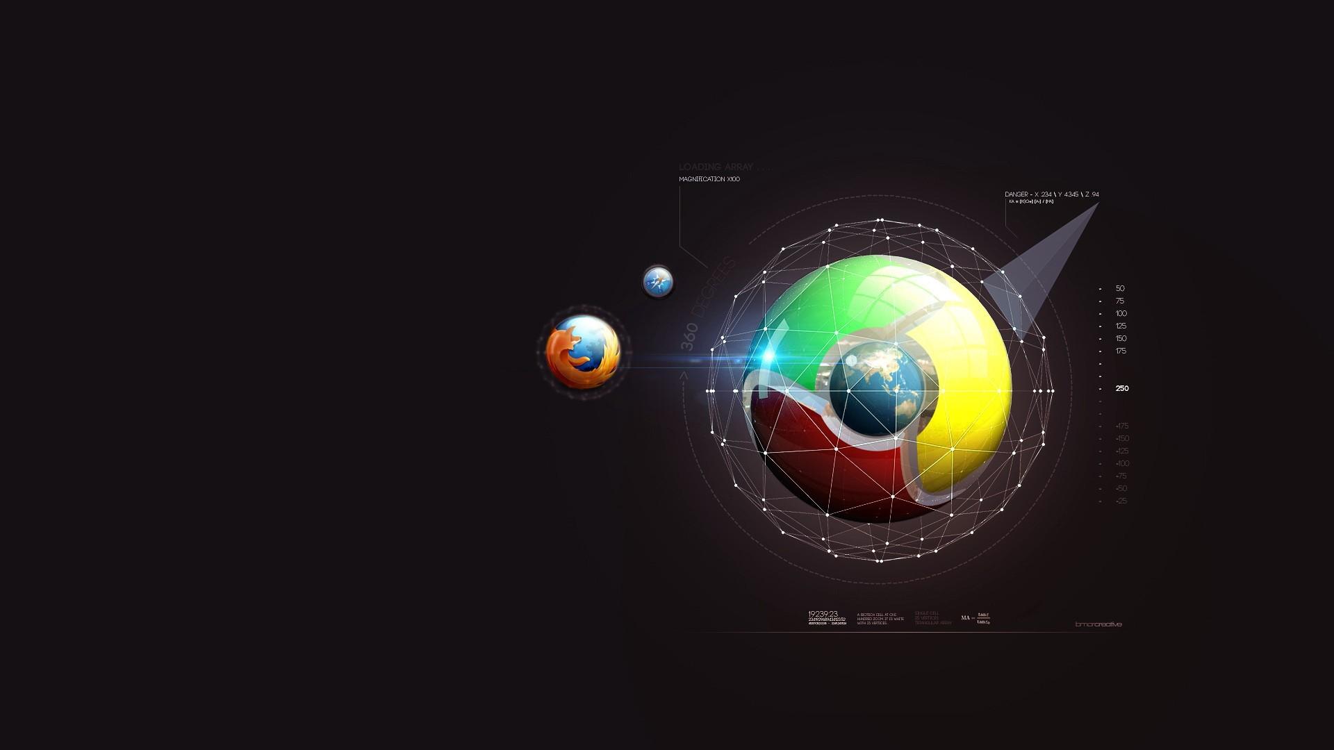 Illustration Planet Space Minimalism Vehicle Earth Circle Ball Mozilla Firefox Google Chrome Screenshot 1920x1080 Px