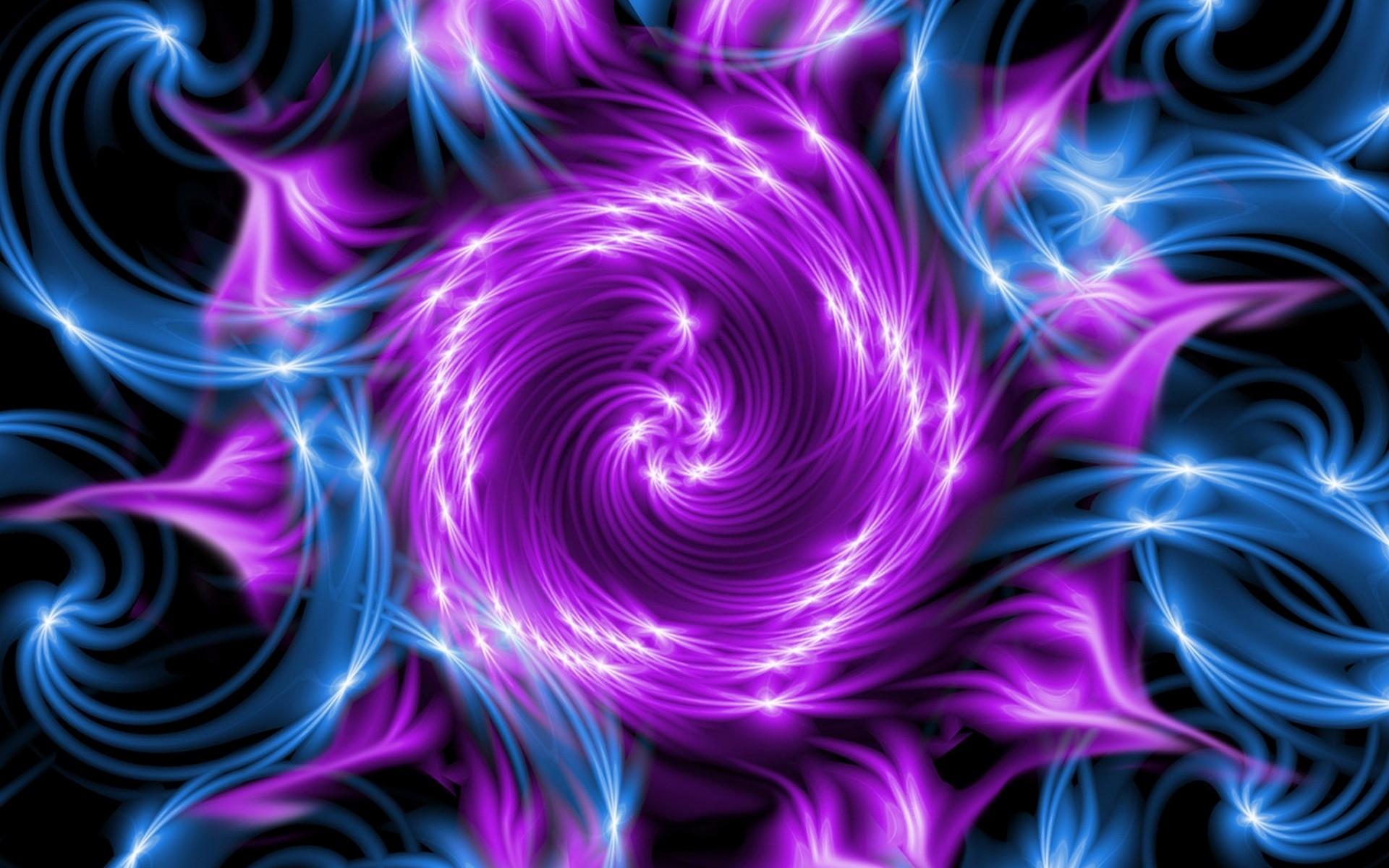Violet Smoke Art Wallpapers: Wallpaper : Illustration, Purple, Smoke, Symmetry, Circle