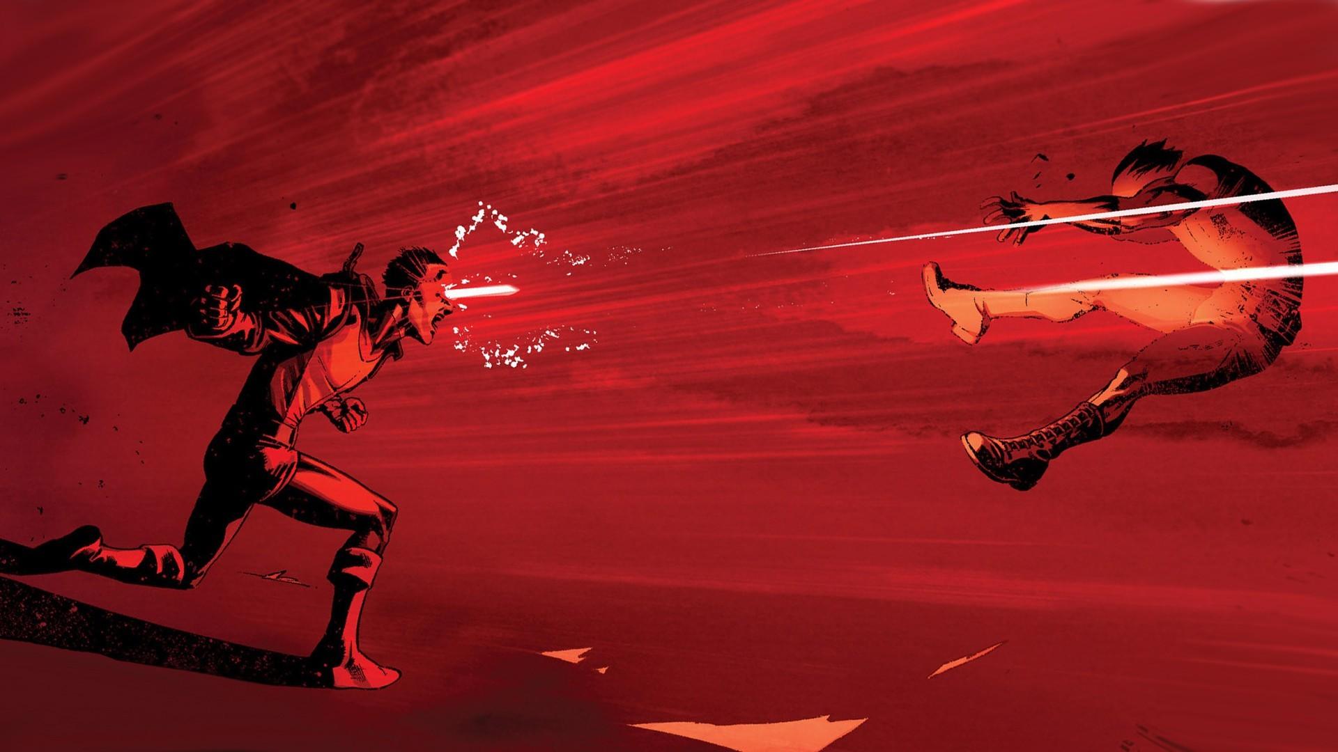 Illustration Red X Men Lasers Cyclops Screenshot Computer Wallpaper