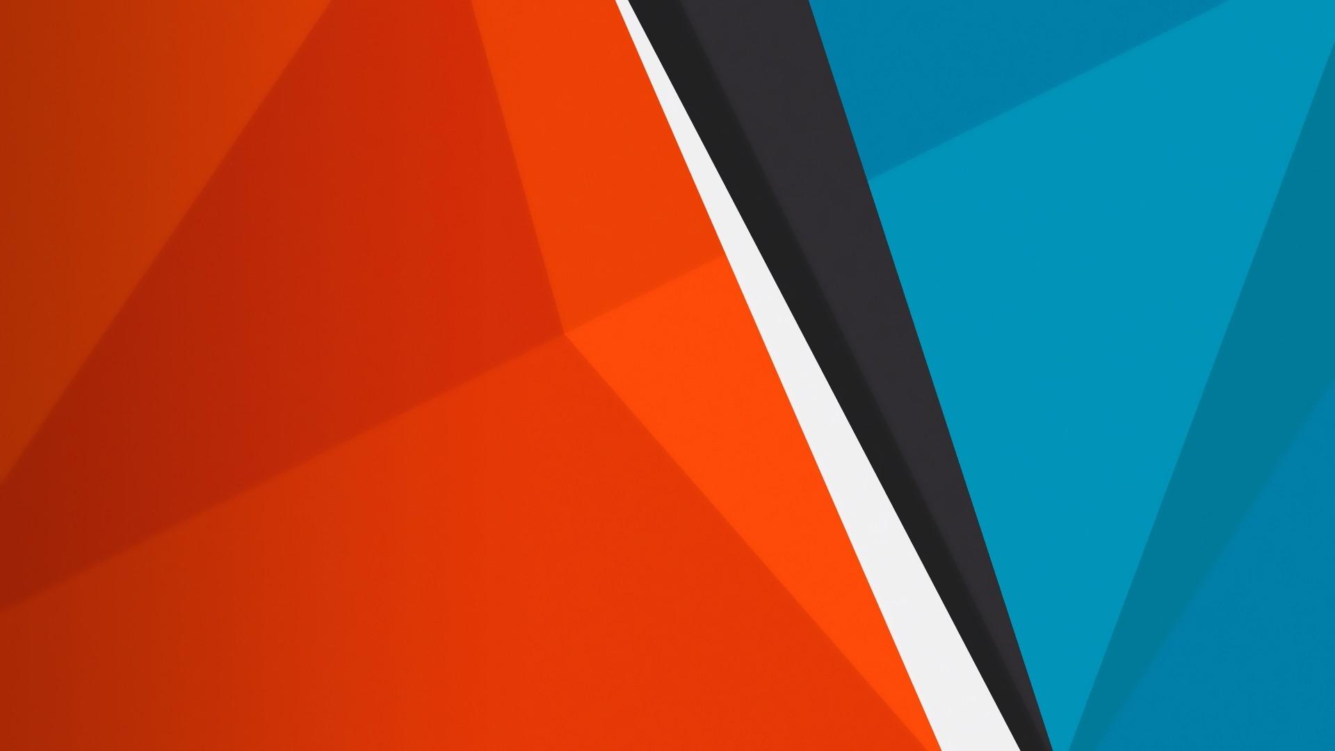 デスクトップ壁紙 図 赤 旗 三角形 オレンジ サークル