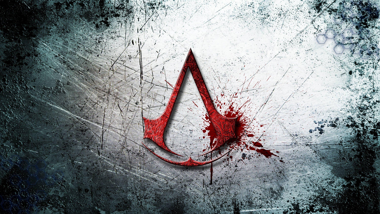 Wallpaper illustration red logo art screenshot assassins creed computer wallpaper - Assasins wallpaper ...