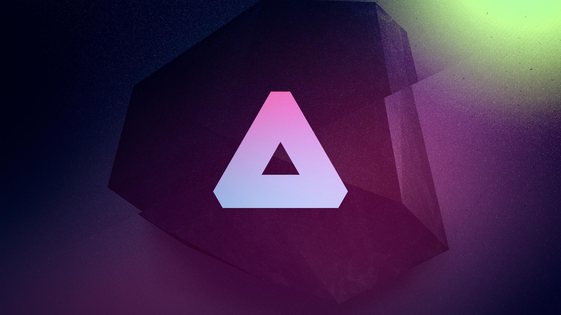 Line Color Form : Wallpaper : illustration red logo symmetry blue triangle