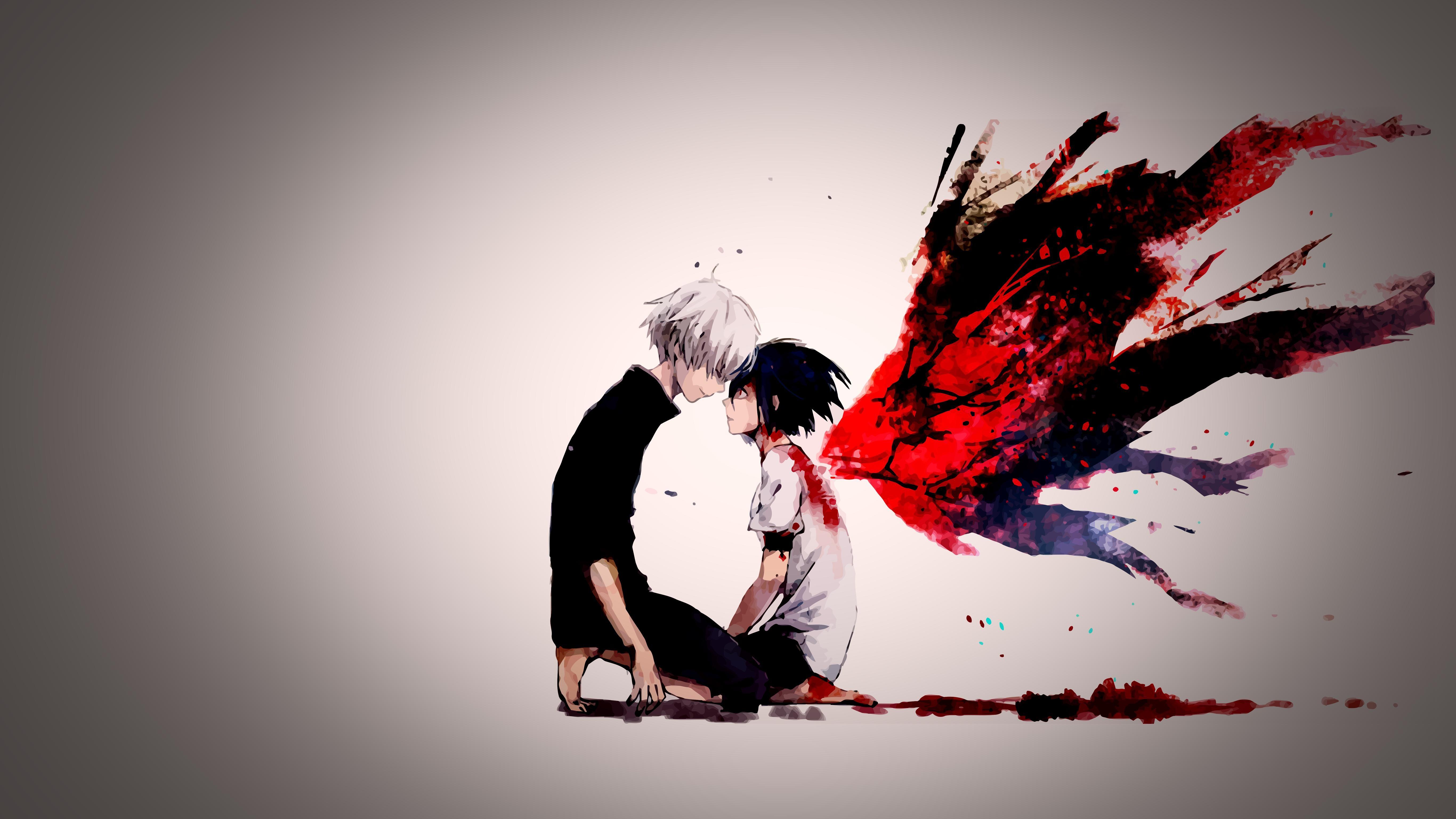 Hintergrundbilder illustration rot manga grafikdesign kaneki ken tokyo ghoul emotion - Ken hd wallpaper ...