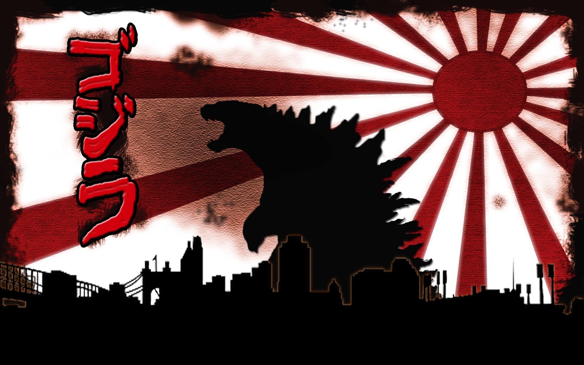 wallpaper : illustration, red, poster, kaiju, godzilla, art, games