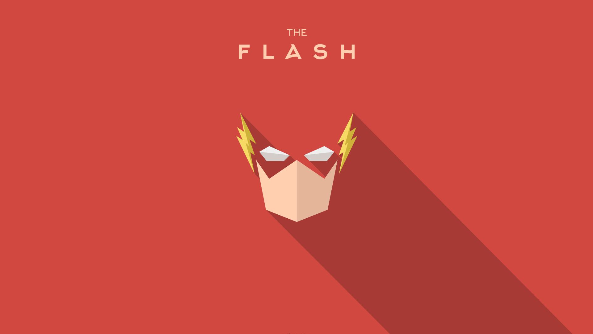Fond d 39 cran illustration rouge texte logo drapeau h ros super h ros flash le flash - Flash le super heros ...