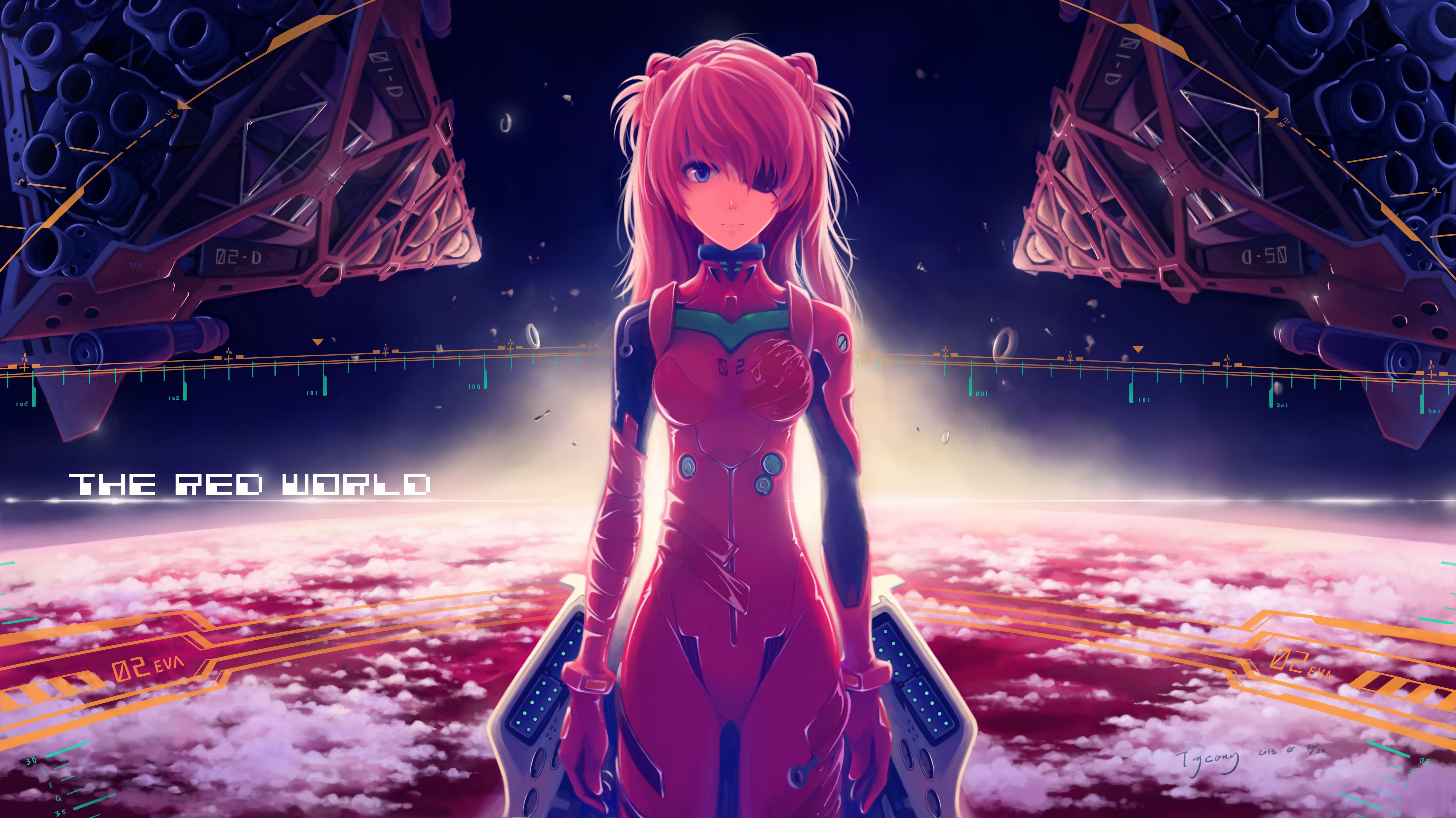 Planet eva redhead