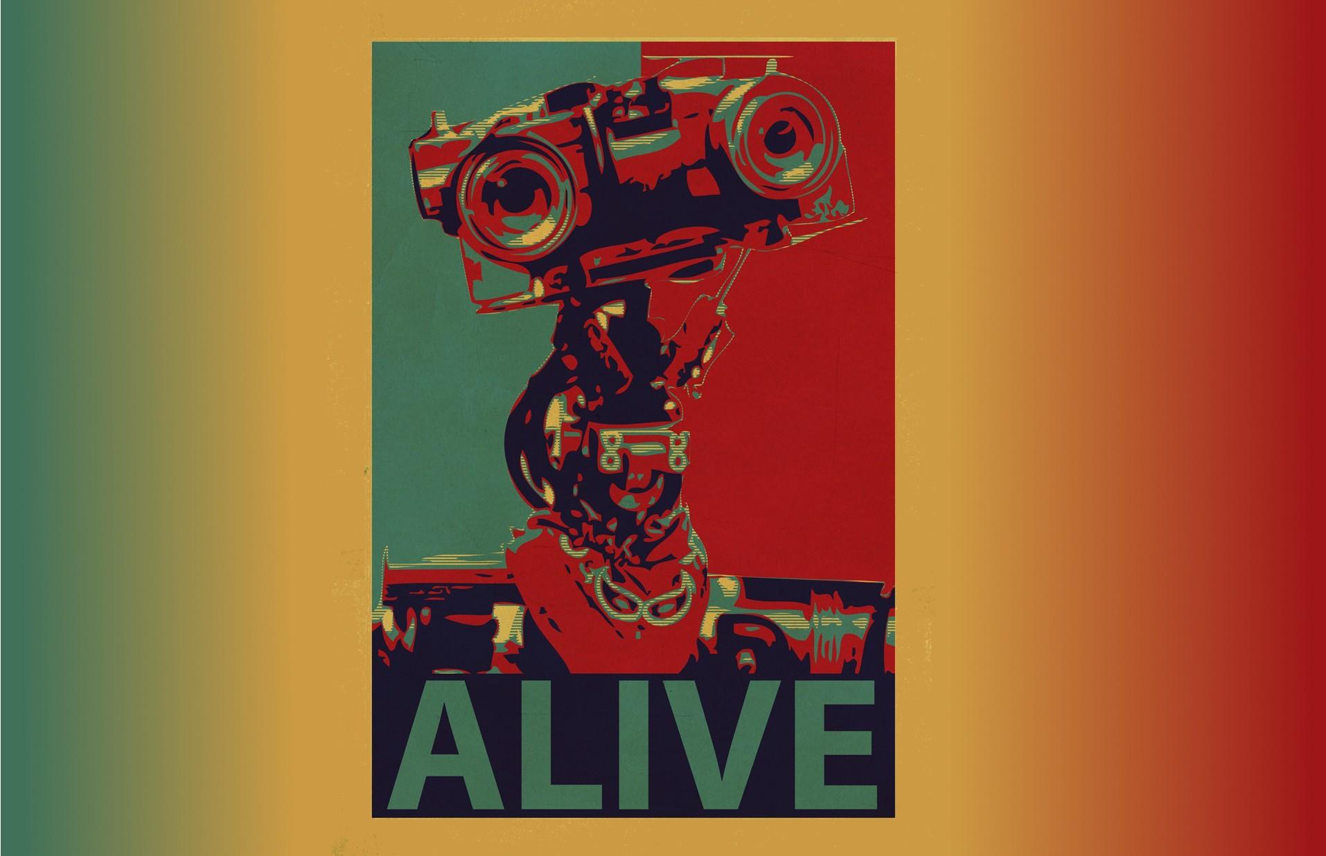 Wallpaper Illustration Graphic Design Roar Movie: 배경 화면 : 삽화, 기계 인간, 빨간, 영화 산업, 그래픽 디자인, 공상 과학 소설, 컨셉 아트, 생명