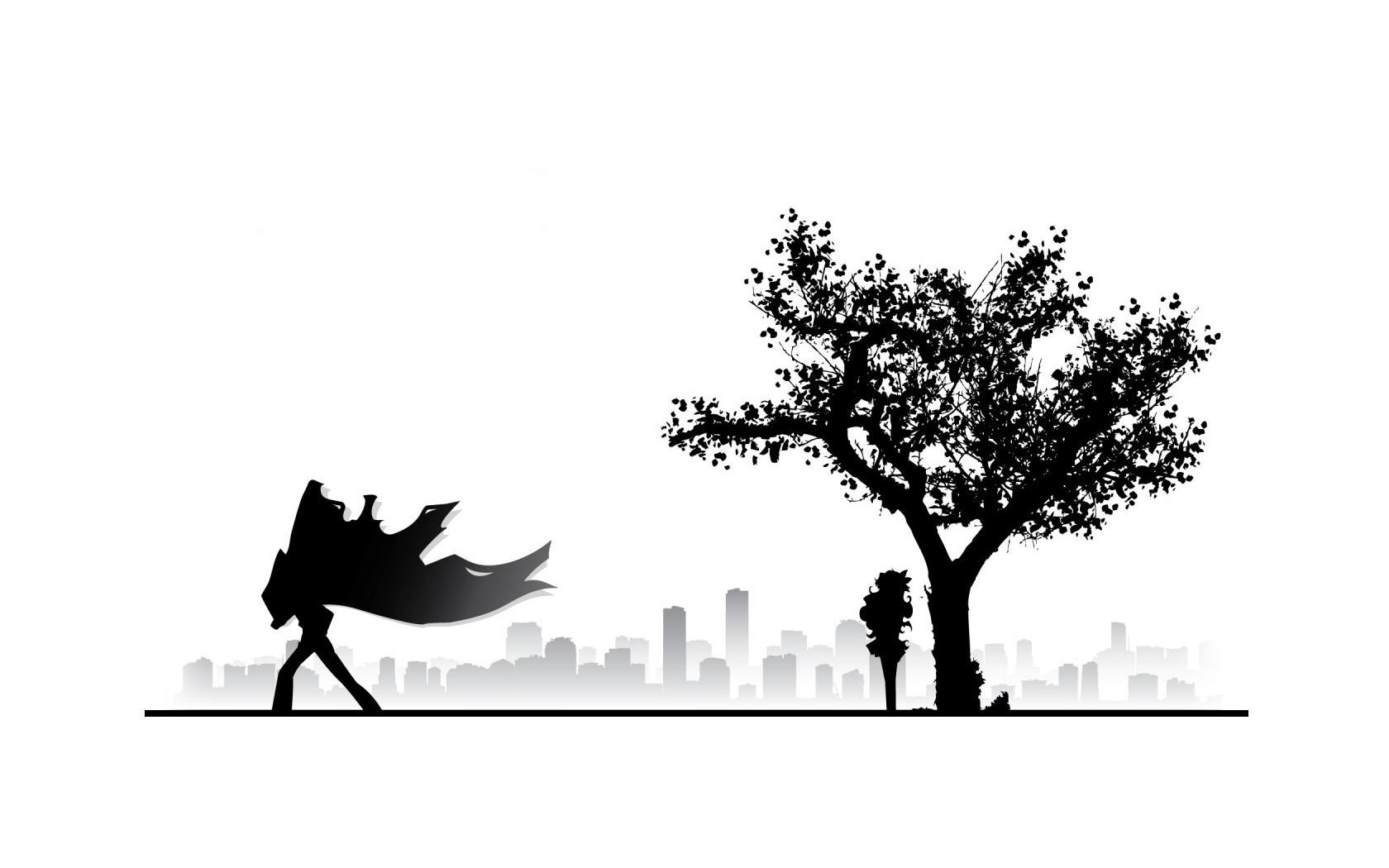 Tapety Ilustrace Silueta Logo Vetev Kreslena Pohadka Tengen