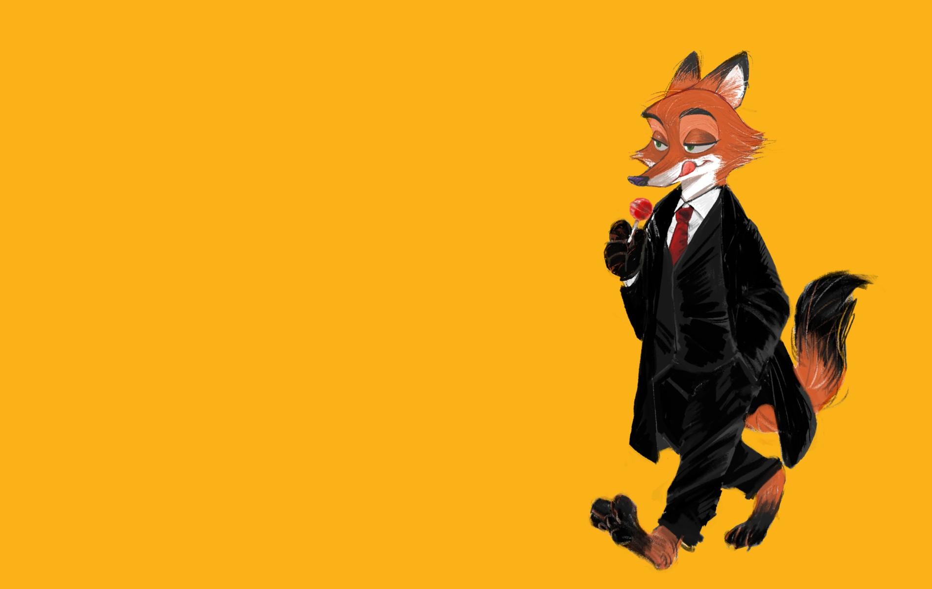 Fond D Ecran Illustration Fond Simple Dessin Anime Zootopie