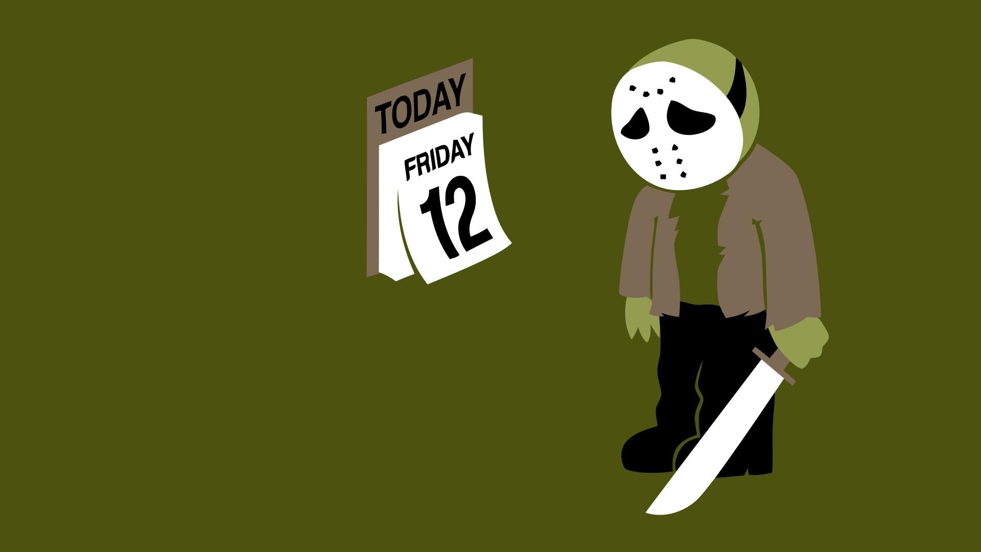 Illustration Simple Background Humor Mask Cartoon Sad Calendar Ball Brand Machete Jason Voorhees Hockey Font