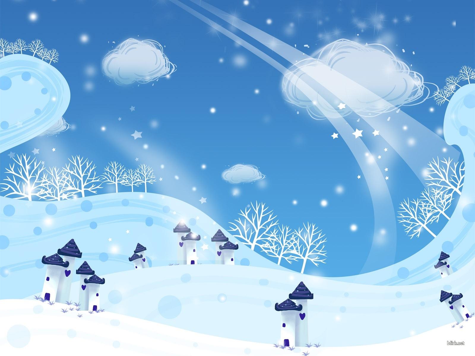 Рисунки погоды зима