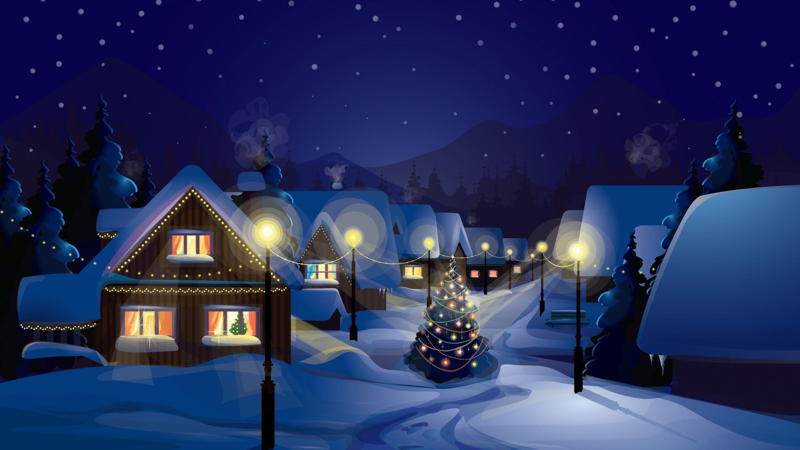 cb732dca81 ilustrácie sneh obec Vianočný stromček Vianoce vianočné svetlá screenshot  počítač tapeta vianočné dekorácie. 0 0. Zadarmo na stiahnutie Original