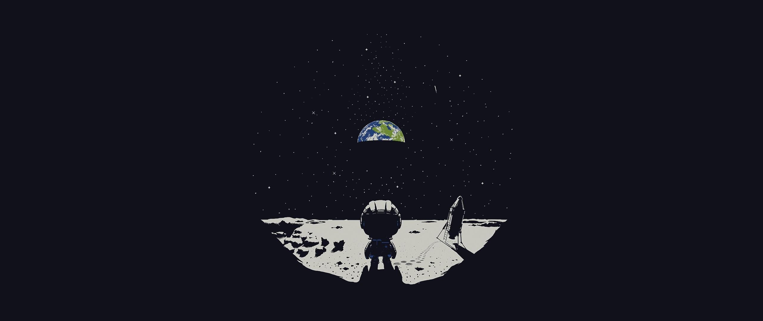 Wallpaper illustration space earth logo moon - Wallpaper kerbal space program ...