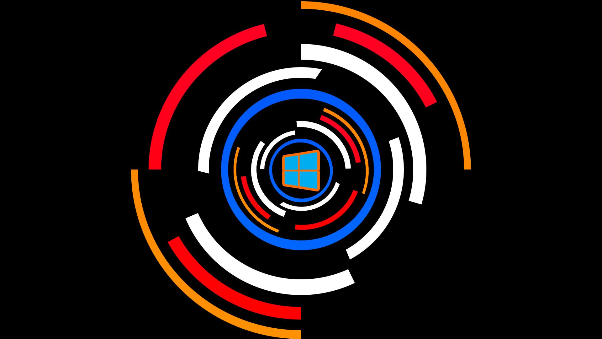 Sfondi Illustrazione Spirale Testo Logo Cerchio Windows 10