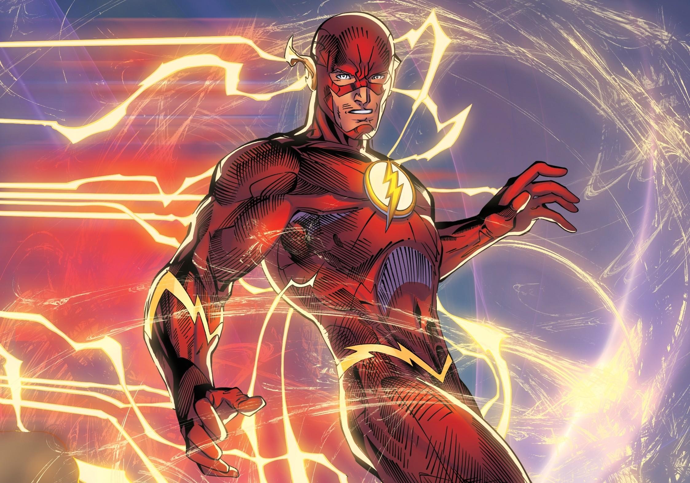 Wallpaper illustration superhero dc comics flash comics screenshot computer wallpaper - Dc characters wallpaper hd ...